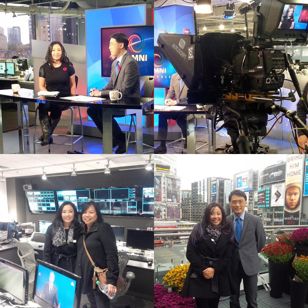 Second Harvest Media Spokes Person on Omni News Cantonese with Kenneth Li & Omni Crew